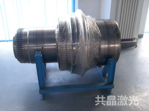 风力发电减速箱输入轴激光修复