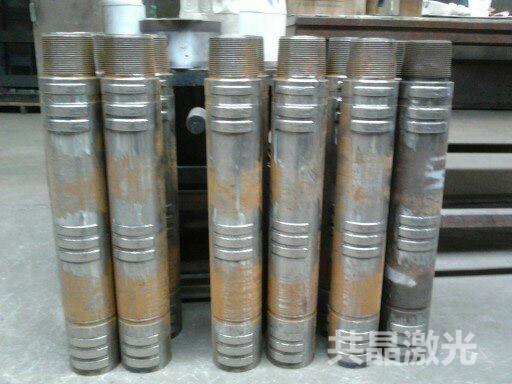 石油机械120万向轴壳体耐磨带激光熔覆修复