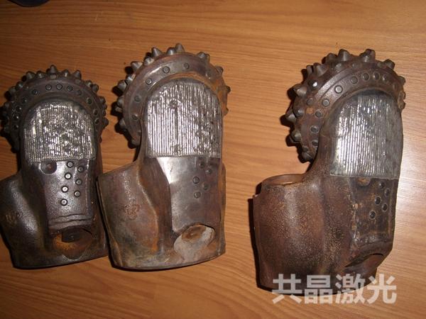 石油机械牙轮钻头激光熔覆