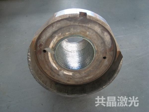 压铸机料筒内壁激光熔覆修复
